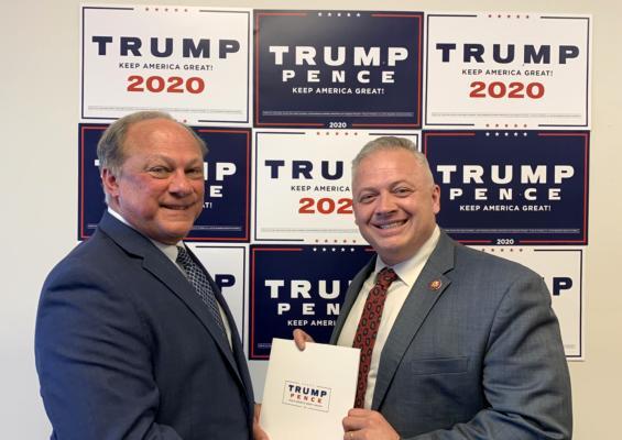 Riggleman files paperwork to ensure Trump is on Virginia ballot