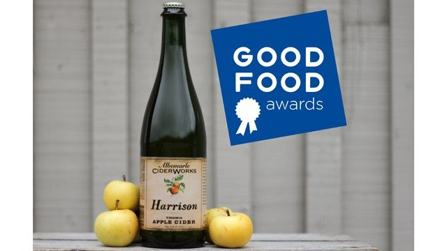 Albemarle CiderWorks honored with Good Food Award